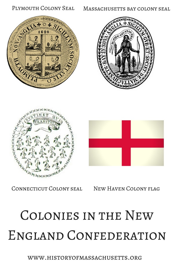 Member Colonies of the New England Confederation