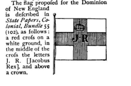 Dominion of New England Flag