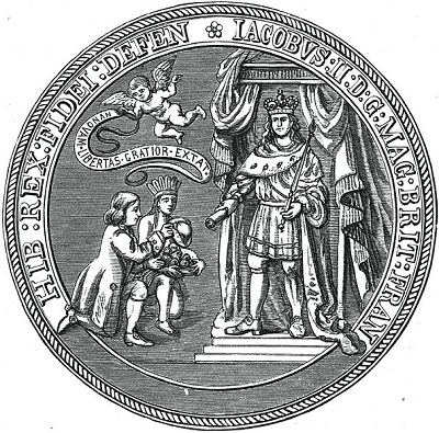 Seal of the Dominion of New England