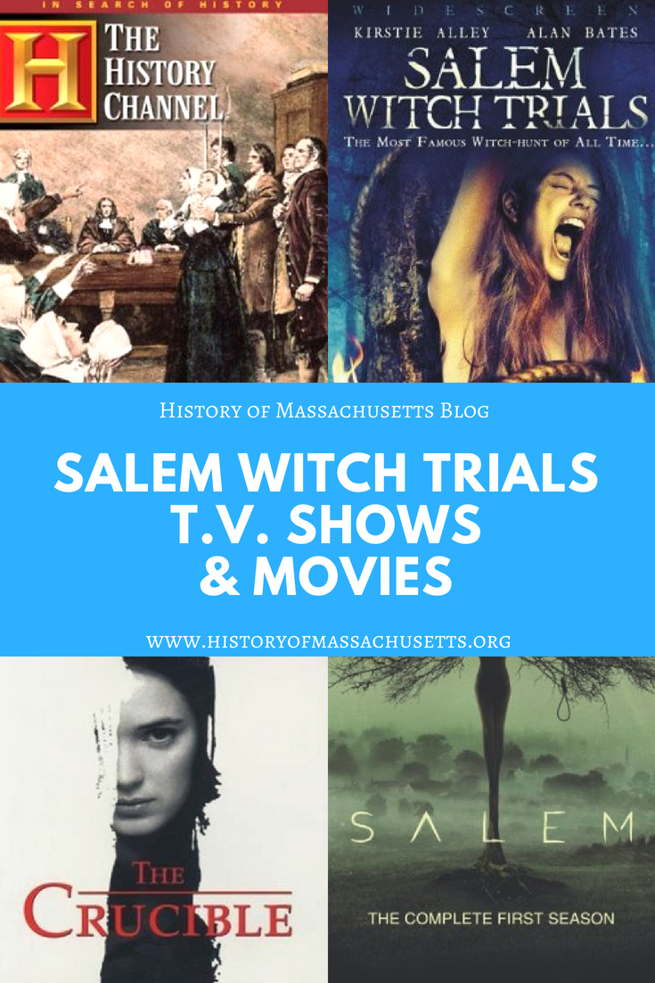 Salem Witch Trials Movies & T V  Shows