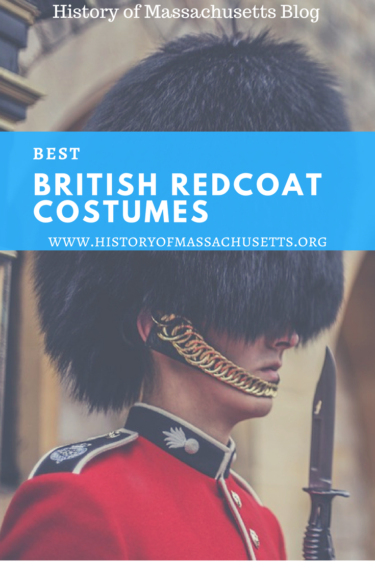 Best British Redcoat Costumes