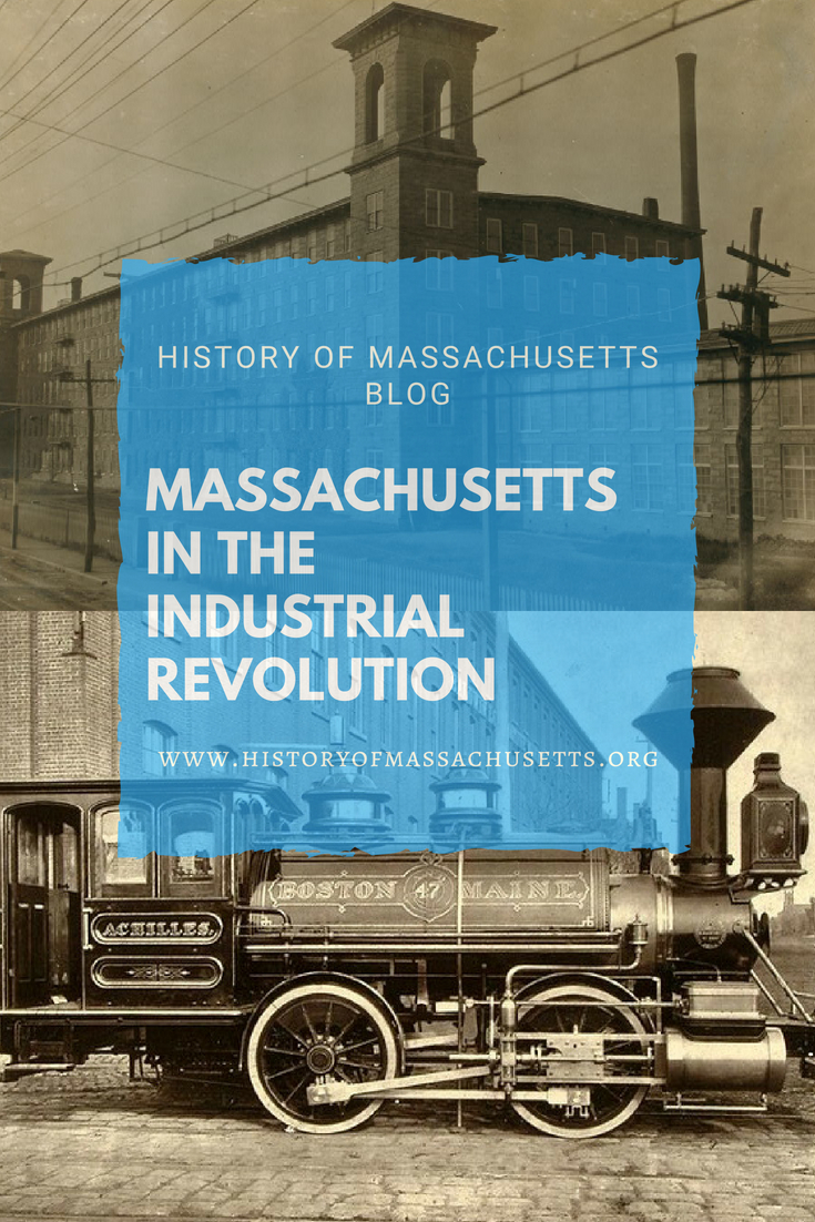 Massachusetts in the Industrial Revolution