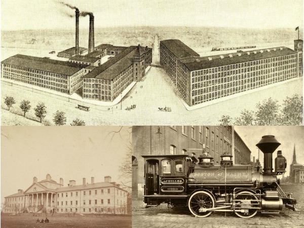 Massachusetts in the Industrial Revolution
