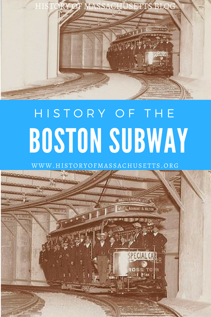History of Boston Subway