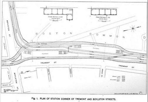 Boston Subway Map Harvard Square.History Of The Boston Subway The First Subway In America