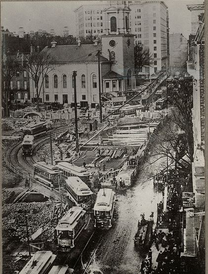 History Of The Boston Subway The First Subway In America