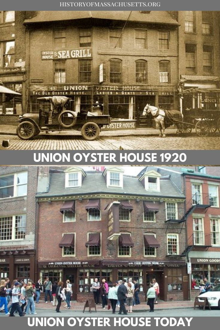 Union Oyster House in 1920