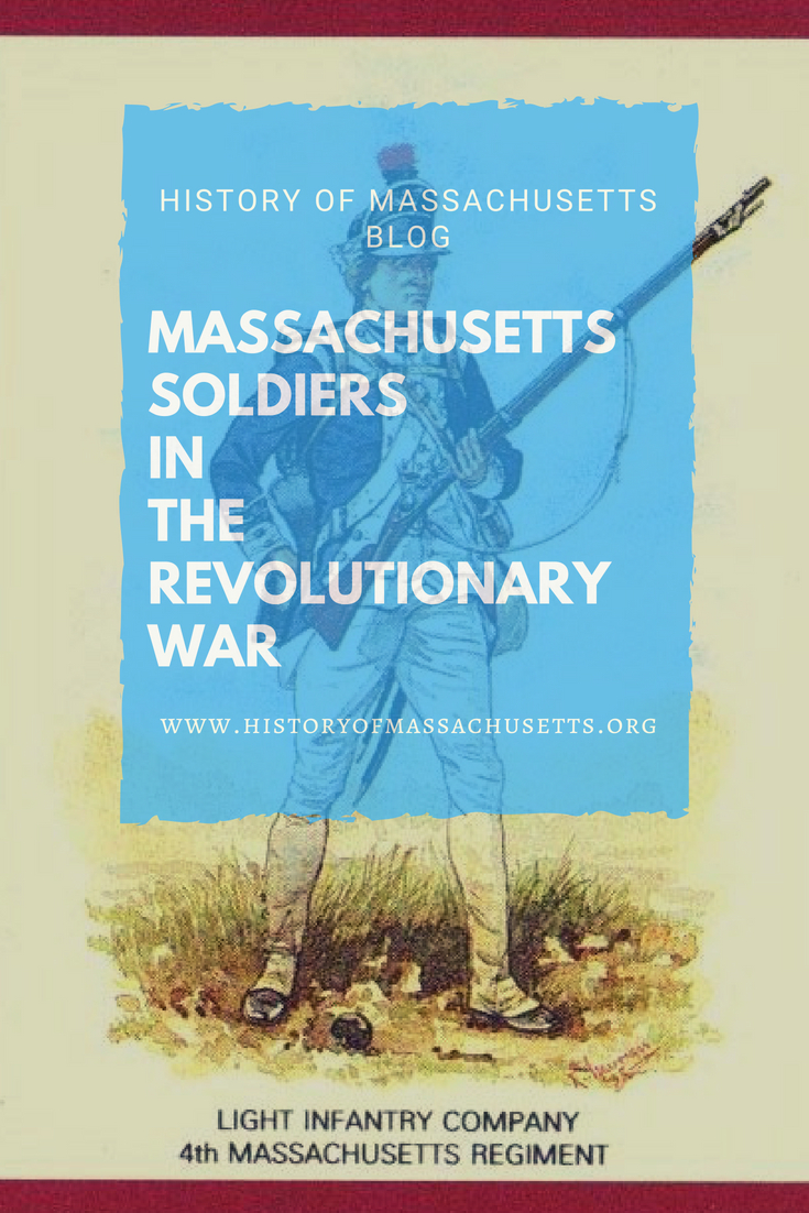 Massachusetts soldiers in the Revolutionary War