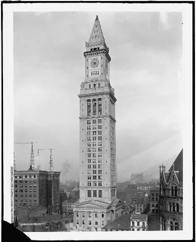 The Boston Custom House Tower, Boston, Mass, circa 1914-1920