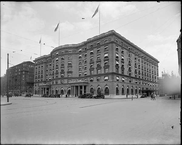 The Copley Plaza hotel, Boston, Mass, circa 1920