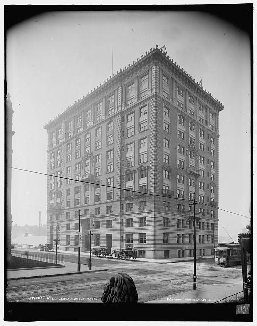 Hotel Lenox, Boston, Mass, circa 1900
