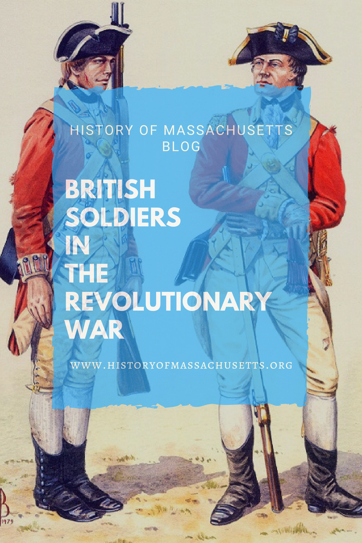 British Soldiers in the Revolutionary War