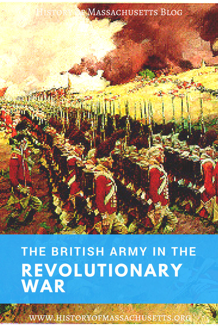 The British Army in the Revolutionary War