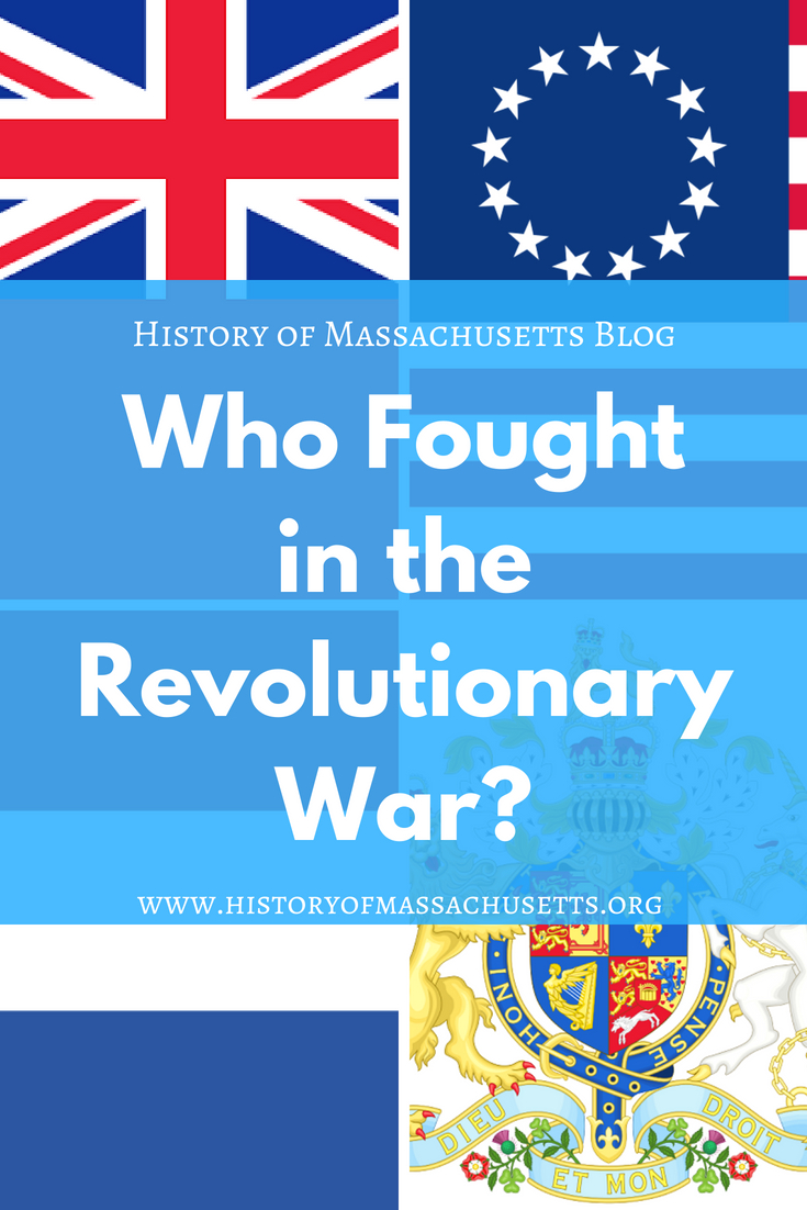Who fought in the Revolutionary War?