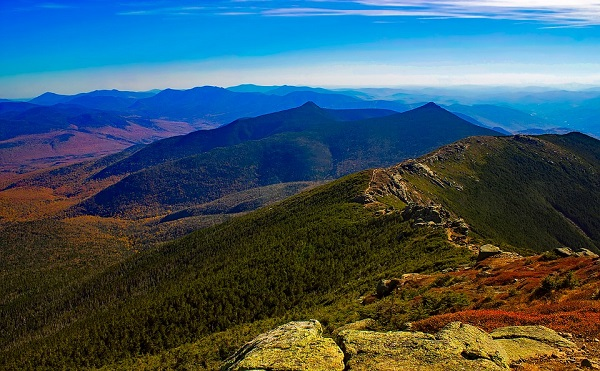 The White Mountains of New Hampshire.