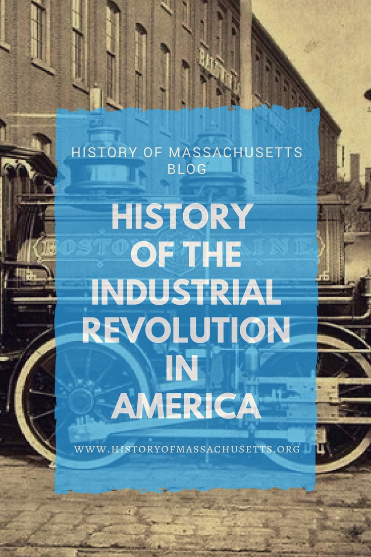 History of the Industrial Revolution in America