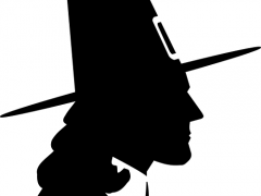 pilgrim silhouette