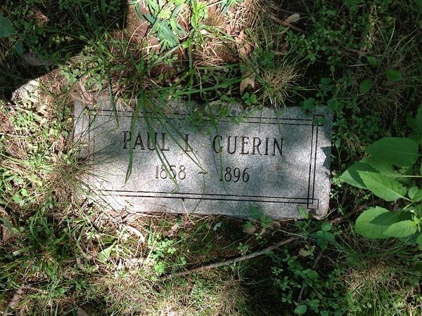 Grave of Paul L. Guerin, Danvers State Hospital Cemetery, Danvers, Mass