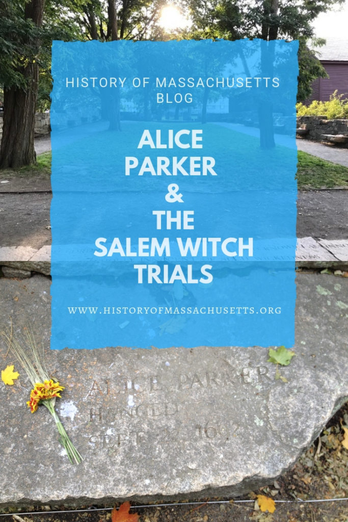 Alice Parker and the Salem Witch Trials