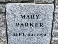 The Witchcraft Trial of Mary Parker