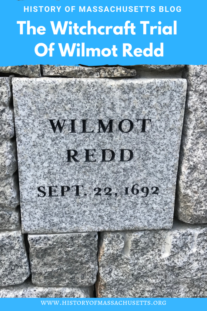 The Witchcraft Trial of Wilmot Redd