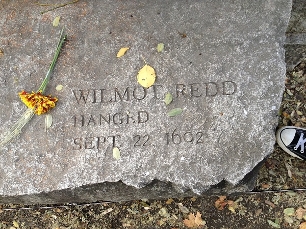 Wilmot Redd, Memorial Marker, Salem Witch Trials Memorial, Salem Mass