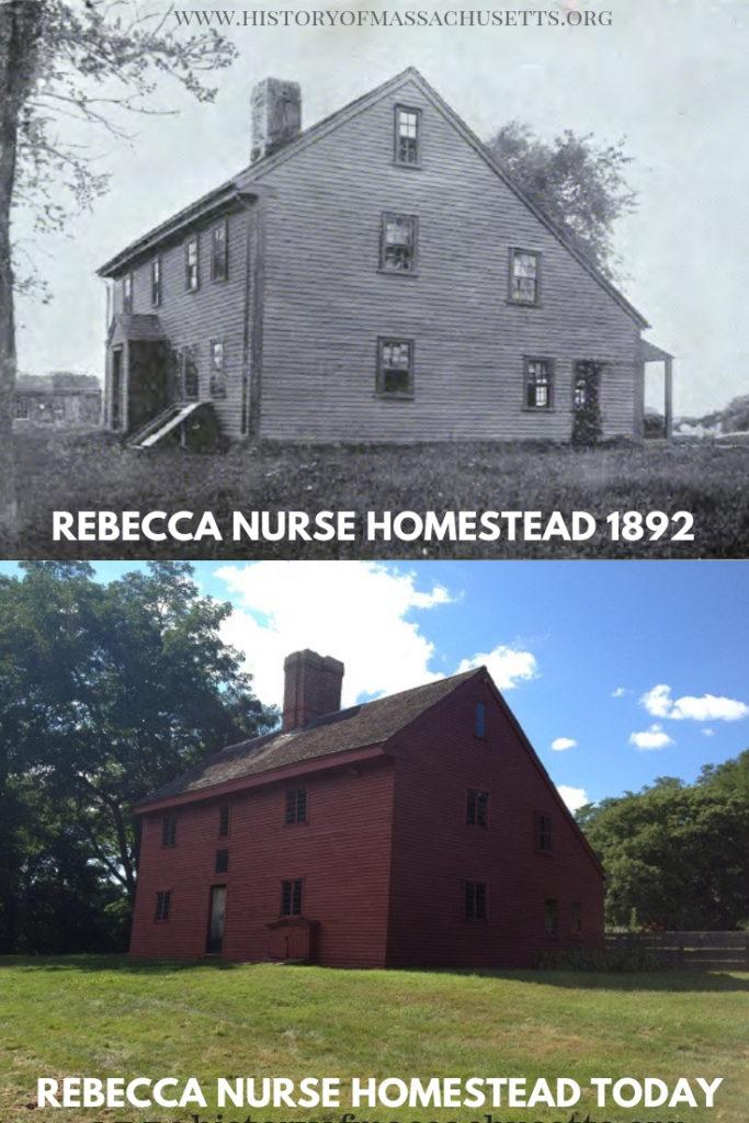 Rebecca Nurse Homestead circa 1892