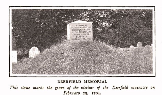 Deerfield Memorial, photo published in The Mentor, circa 1913