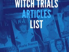 Salem Witch Trials Articles List