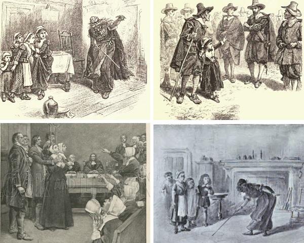 The Afflicted Girls of Salem Village
