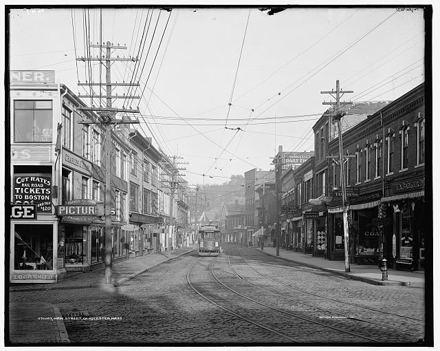 Main Street, Gloucester, Mass, circa 1905