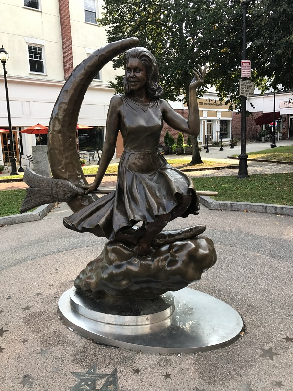 Bewitched Statue, Salem, Mass. Photo by Rebecca Brooks.