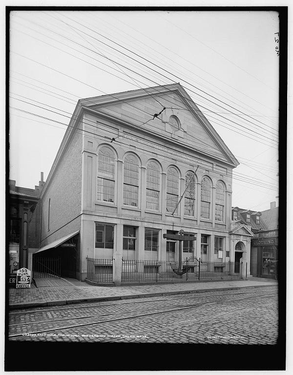 East India Marine Hall and Peabody Museum, Salem, Mass, circa 1910-1920