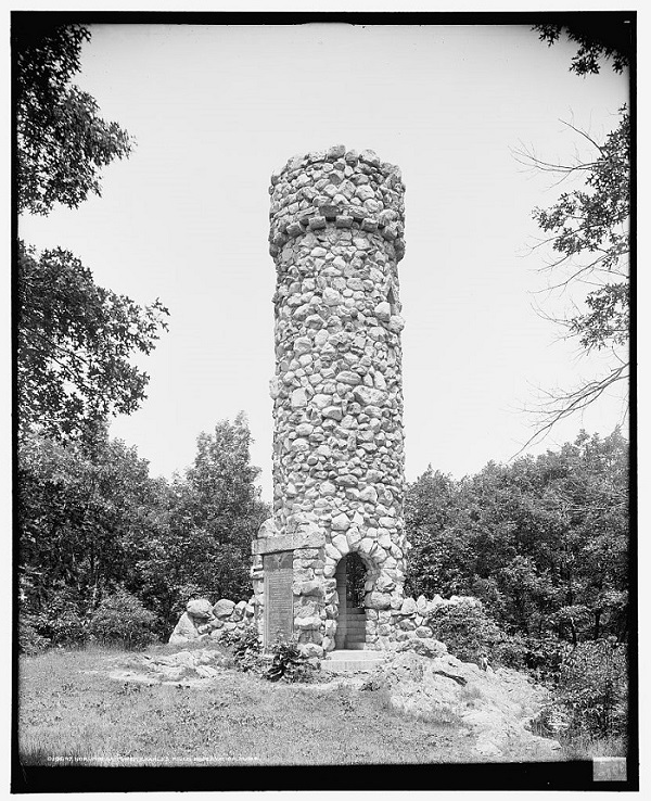 Norumbega Tower, Weston, Mass, 1906