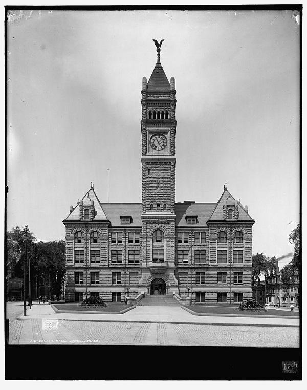 City Hall, Lowell, Mass, circa 1908