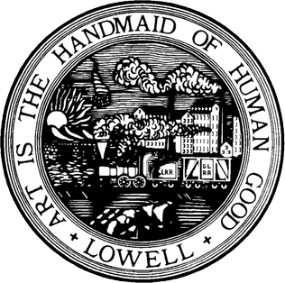 Seal of the city of Lowell, Mass