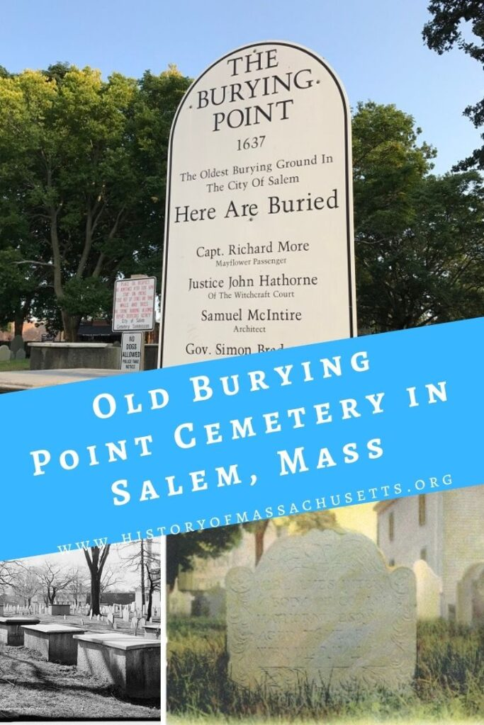 Old Burying Point Cemetery in Salem, Mass
