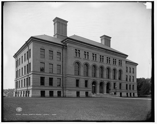 State Normal School, Lowell, Mass, circa 1908