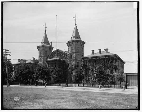 The Lowell Jail circa 1908