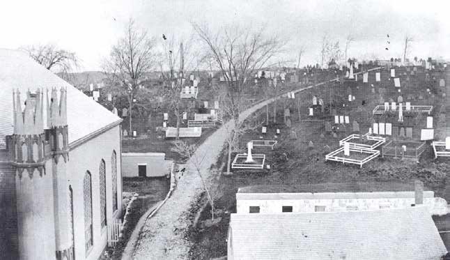 Burial Hill, Plymouth, Mass, circa 1870