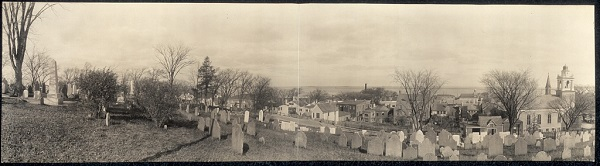 Burial Hill, Plymouth, Mass, circa 1910