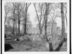 Copp's Hill Burying Ground, Boston, Mass, circa 1904