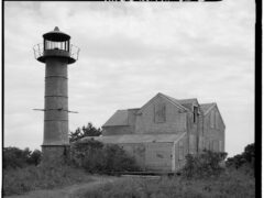 Monomoy Point Light Station, Monomoy Island, circa 1968