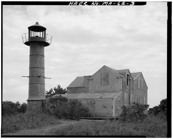 Monomoy Point Light Station, Monomoy Island, circa 1968