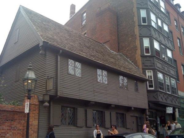 Paul Revere House, Boston, Mass