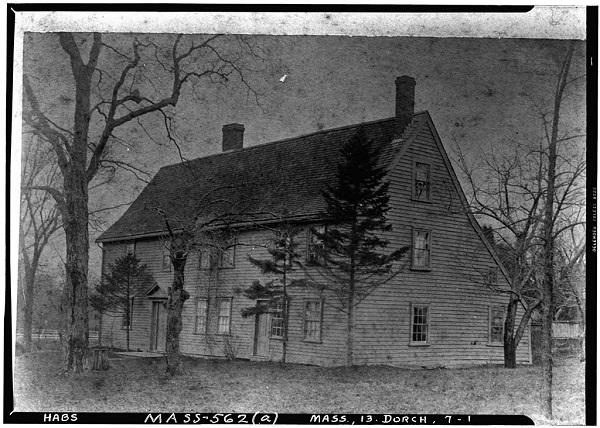 Robert Pierce House, Dorchester, Mass