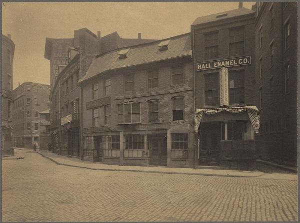Union Oyster House, Boston, Mass, circa 1898