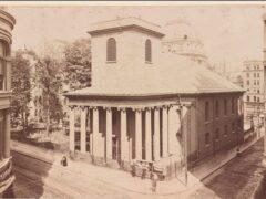 King's Chapel & King's Chapel Burying Ground, Boston, Mass
