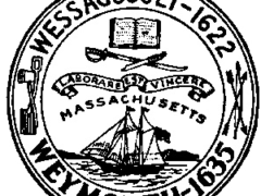 Town Seal of Weymouth, Mass