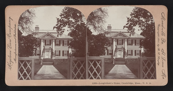 The Longfellow House, Cambridge, Mass, in 1901